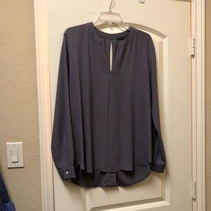 Steel grey blouse
